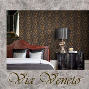Обои Grandeco Via Veneto