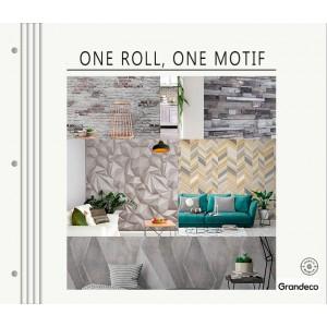 Обои Grandeco One roll One Motif